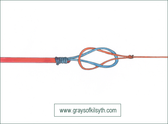 LKoop-to-Loop Knot - attaching leader to fly line