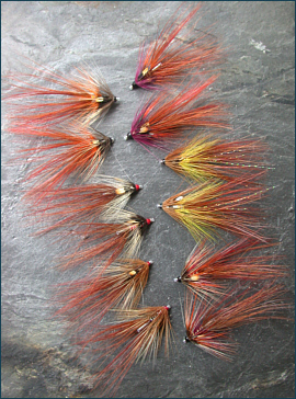 Irish Shrimp Tube Flies