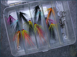 Minitube Salmon Flies
