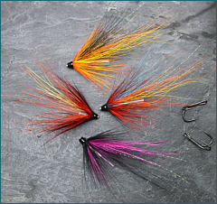 Needle Tube Salmon Flies