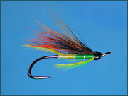 AGreen Highlander salmon fly