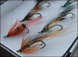 Traditional Salmon Fly Selection