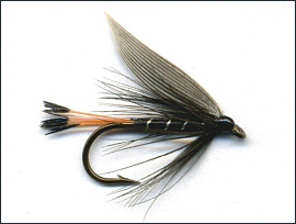 Blae & Black Trout Fly
